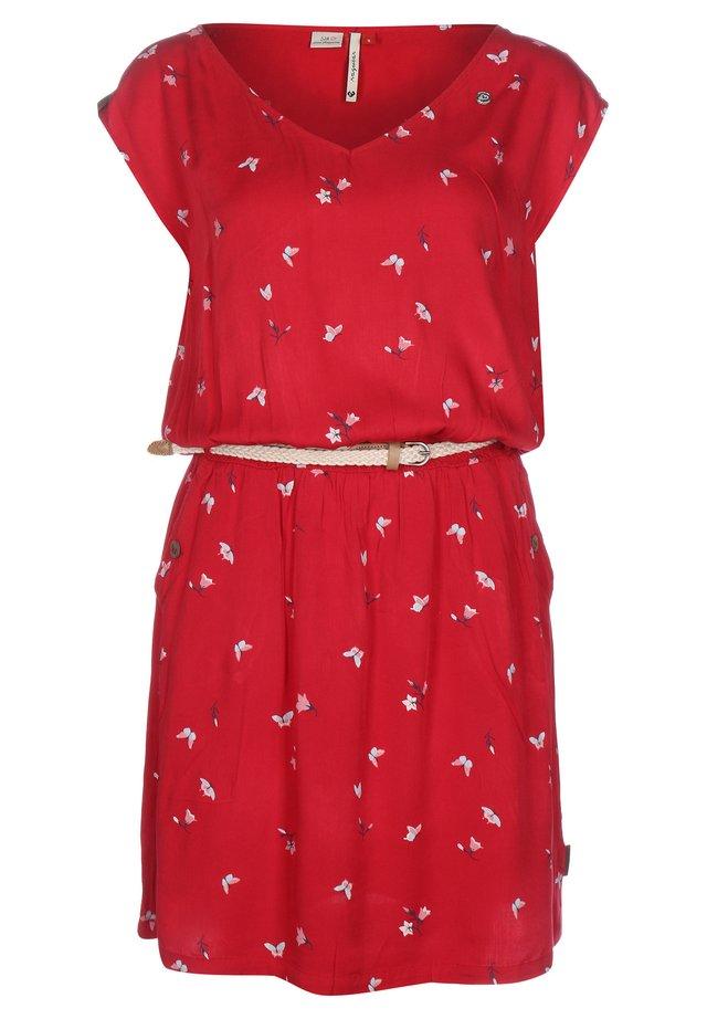 CAROLINA W - Day dress - red
