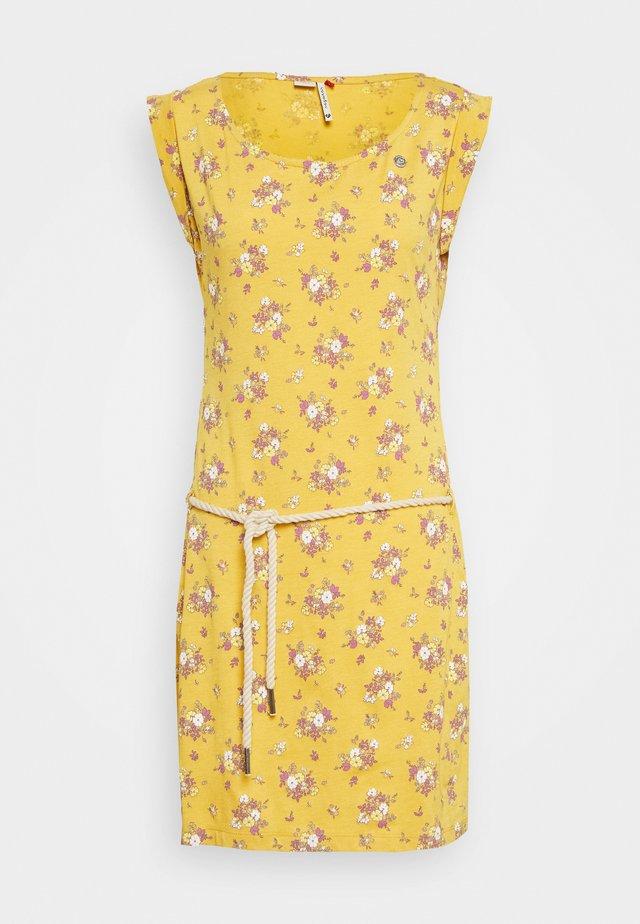 TAMY - Robe d'été - yellow