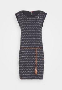 Ragwear - ZIG ZAG - Žerzejové šaty - black - 4