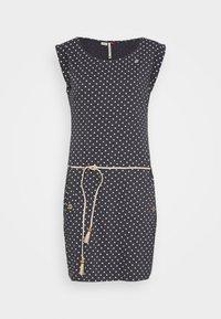Ragwear - TAG DOTS - Jersey dress - black - 0