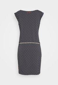 Ragwear - TAG DOTS - Jersey dress - black - 1