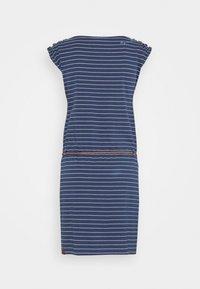 Ragwear - CHEGO - Žerzejové šaty - denim blue - 1