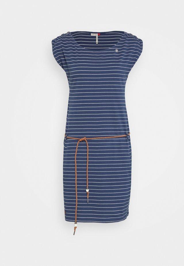 CHEGO - Žerzejové šaty - denim blue