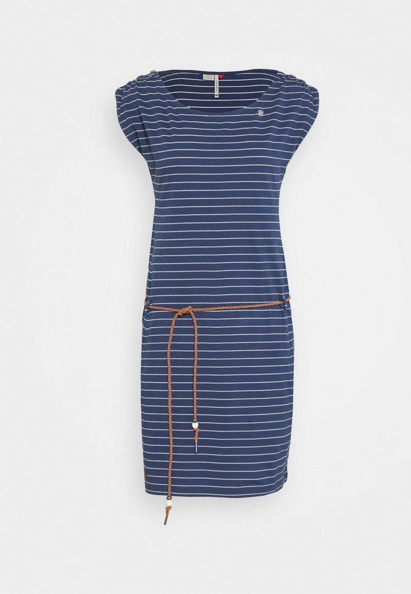 Ragwear - CHEGO - Žerzejové šaty - denim blue