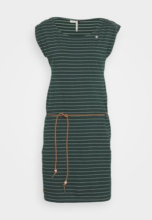 CHEGO - Jersey dress - dark green