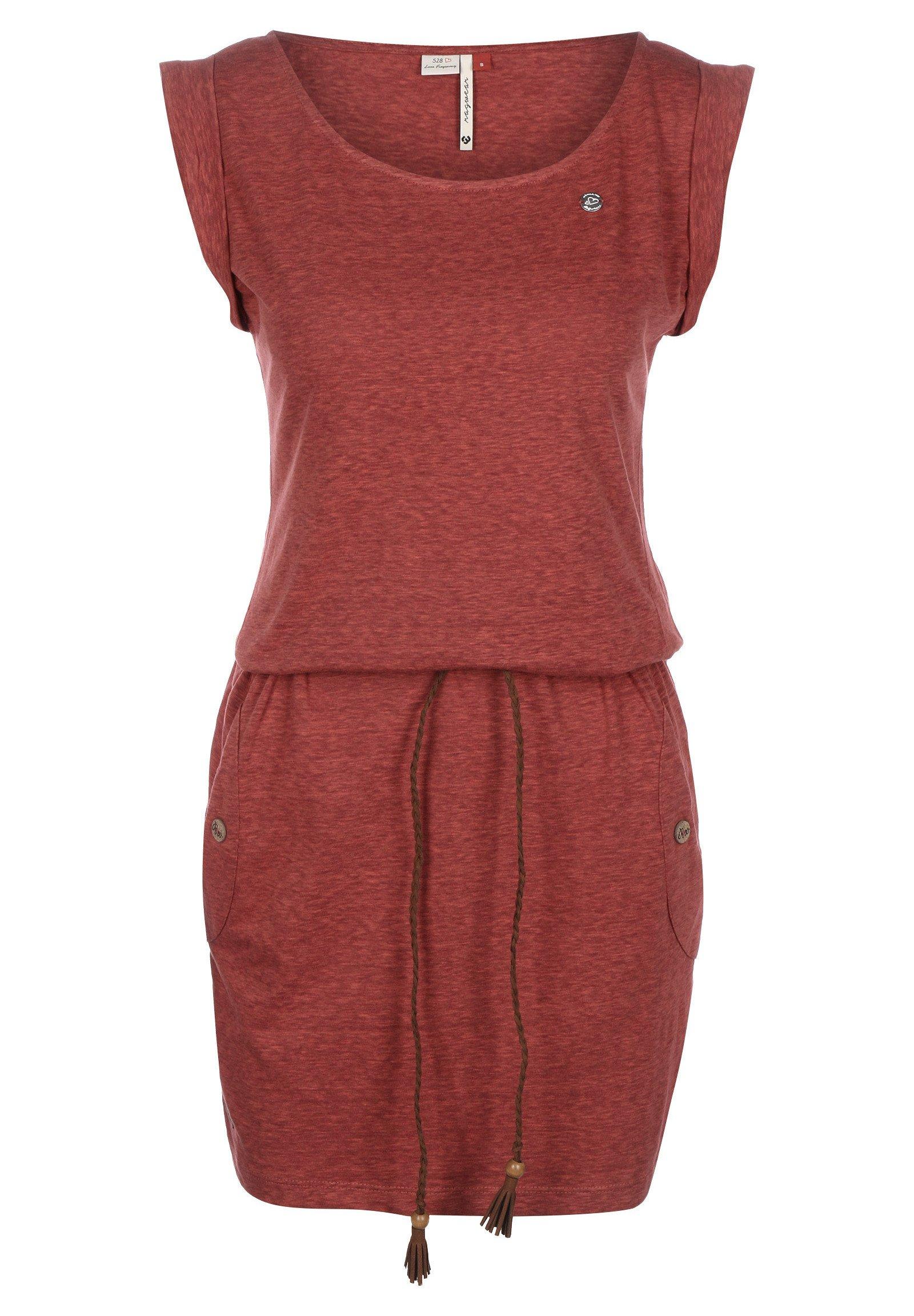 Ragwear Felow Jacket Wine Red Femmes Veste D/'Hiver Veste Capuche Rouge