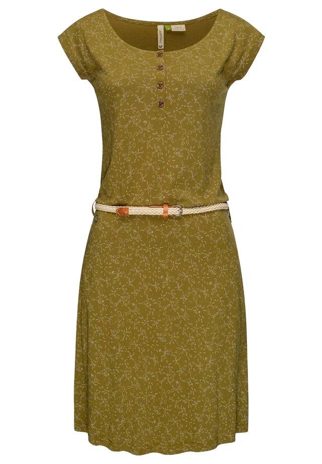 ZEPHIE - Jerseykleid - olive