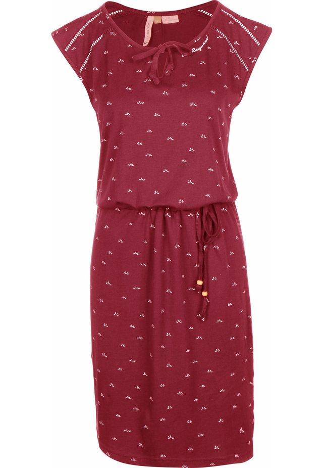 TETUAN  - Jersey dress - red
