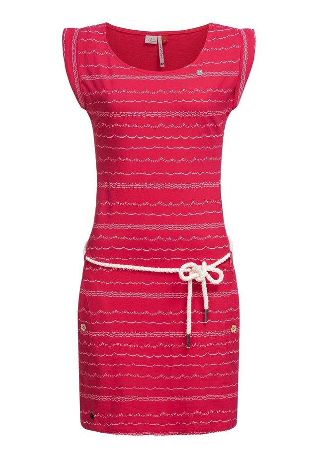 Jersey dress - raspberry20