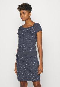 Ragwear - MIKE DRESS ORGANIC - Day dress - navy - 0