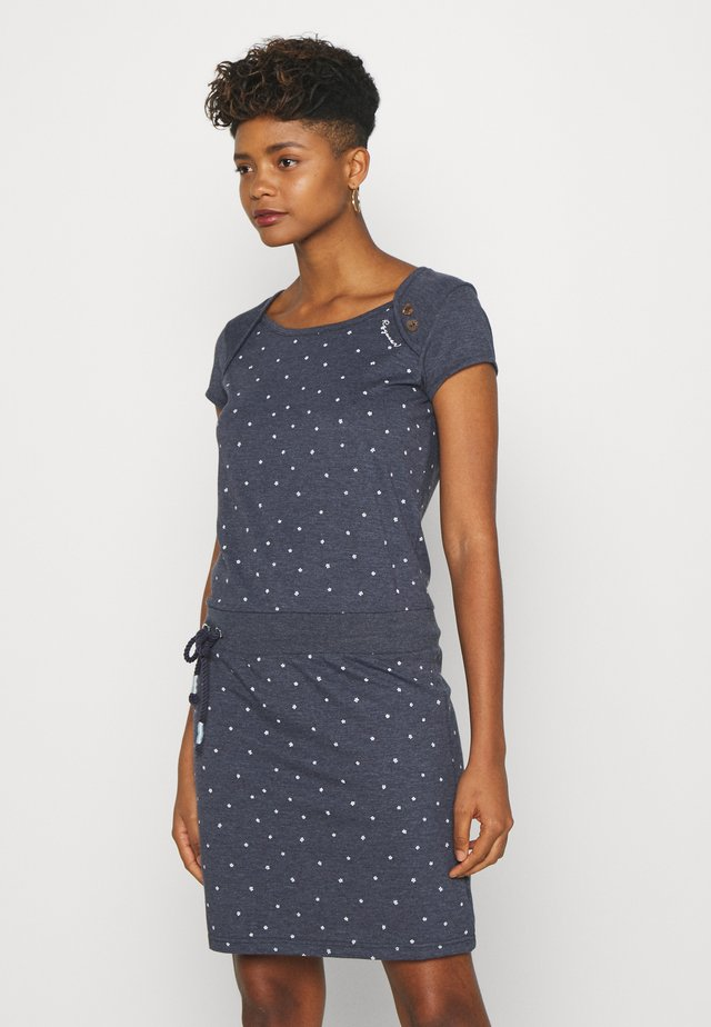 MIKE DRESS ORGANIC - Freizeitkleid - navy