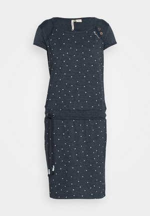 MIKE DRESS ORGANIC - Robe d'été - navy