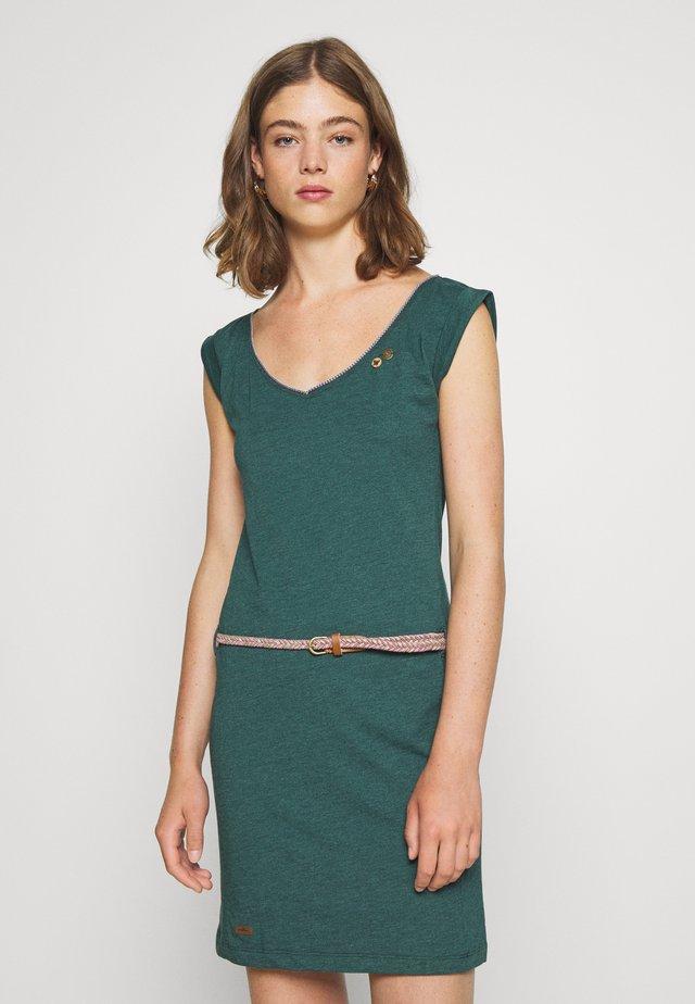SLAVKA - Jersey dress - dark green