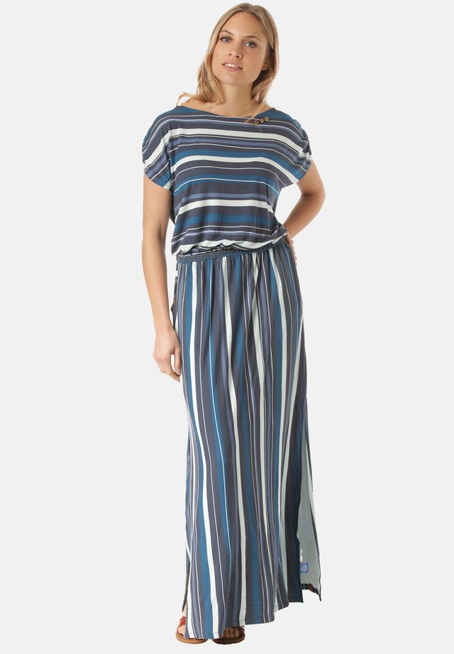 GRETANA - Maxi dress - blue,stripes