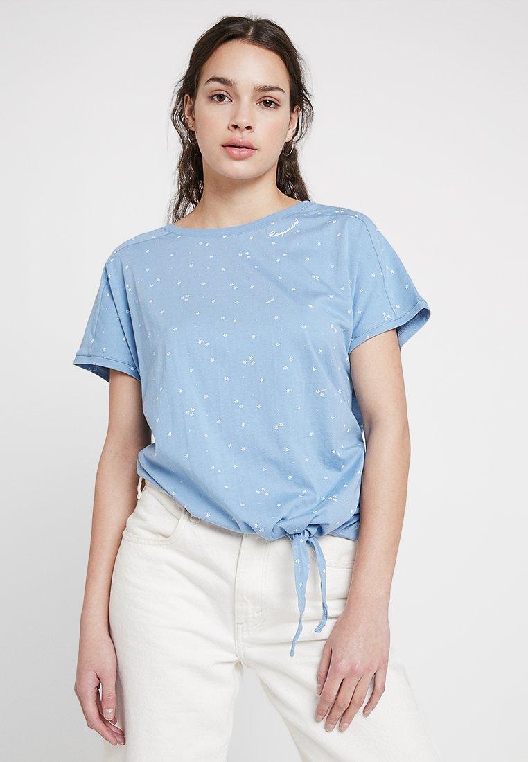 Ragwear - BOLIVIA ORGANIC - Camiseta estampada - dusty blue
