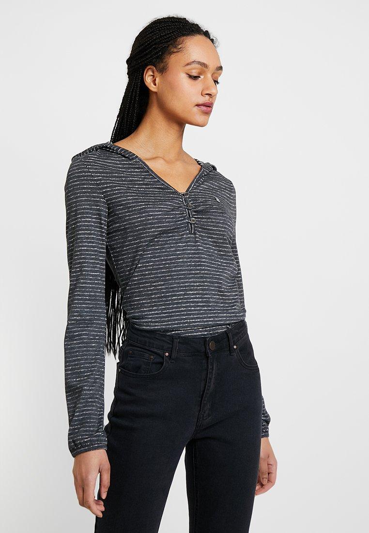 Ragwear - SIPY - Camiseta de manga larga - black