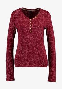 Ragwear - PINCH - Långärmad tröja - wine red - 5