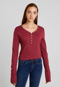 Ragwear - PINCH - Långärmad tröja - wine red - 0