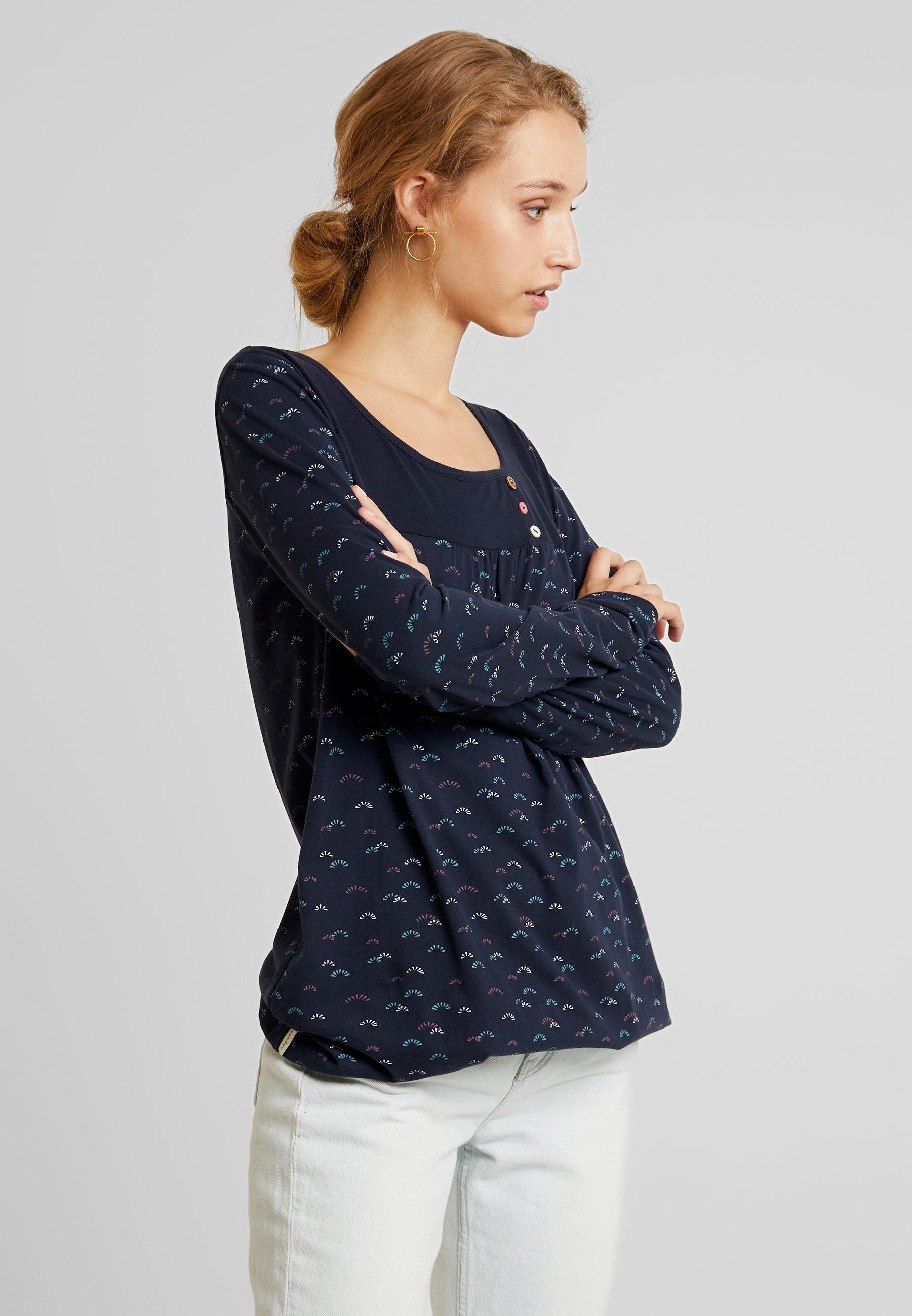 longues shirt ORGANICT manches Ragwear BRAZIL à navy c3ARj4L5q