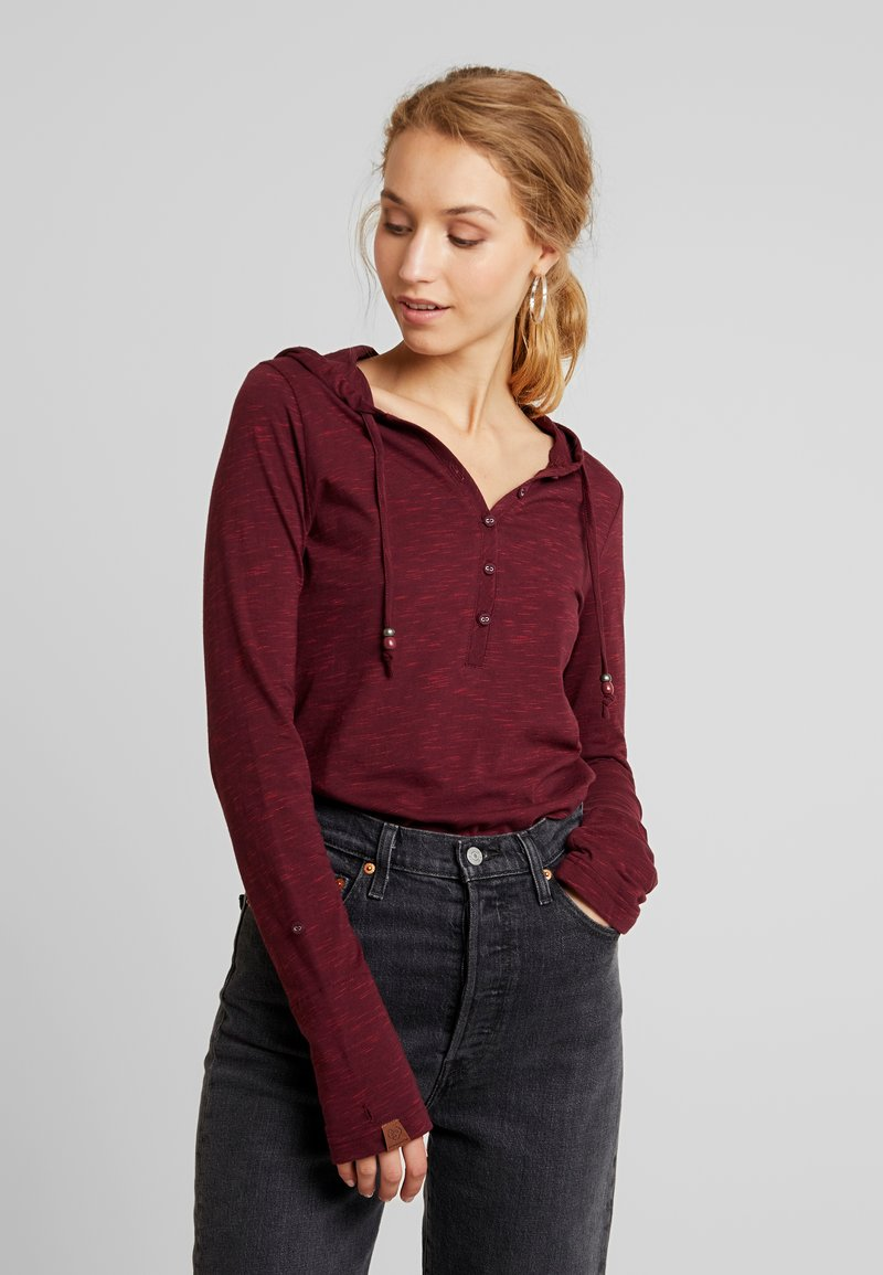 Ragwear - DROP - Long sleeved top - wine red