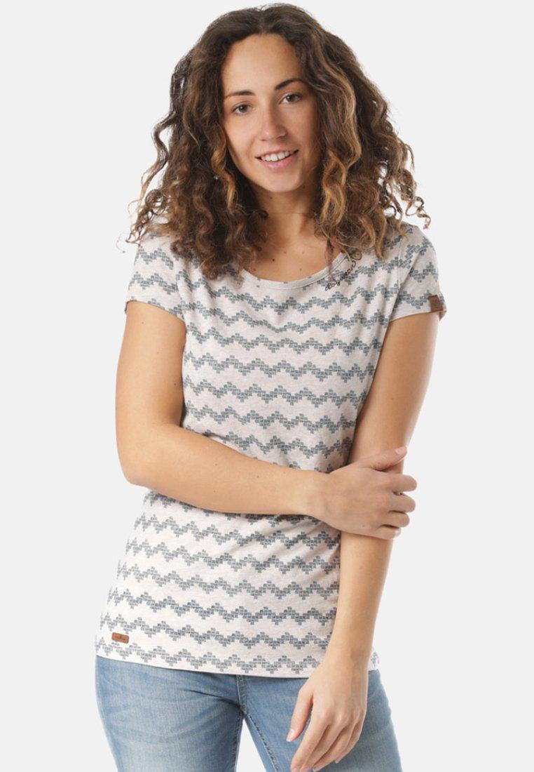 Ragwear - Print T-shirt - beige