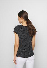 Ragwear - DIONE - Print T-shirt - black - 2