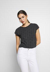 Ragwear - DIONE - Print T-shirt - black - 0
