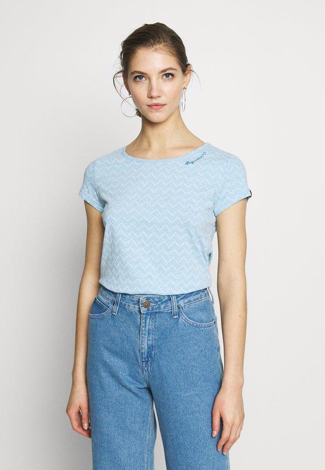 ZIG ZAG - T-Shirt print - blue