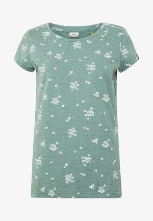 MINT A ORGANIC - T-shirts med print - green