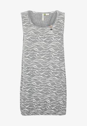 GISELLE ORGANIC - Top - grey