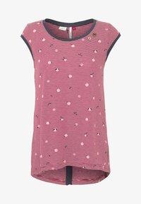 Ragwear - DOMINICA - T-shirt print - red - 3