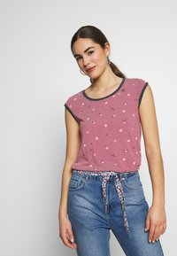 Ragwear - DOMINICA - T-shirt print - red - 0