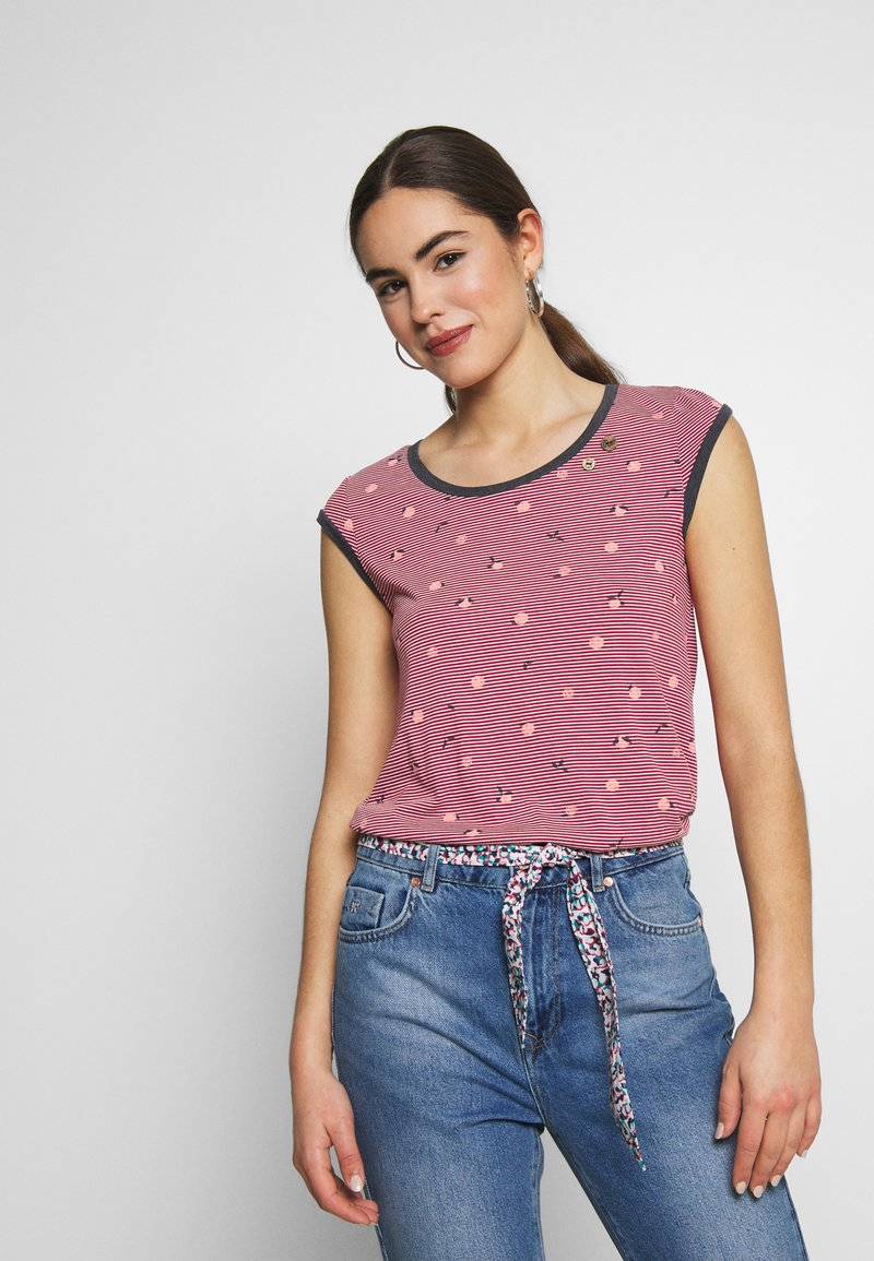 Ragwear - DOMINICA - T-shirt print - red