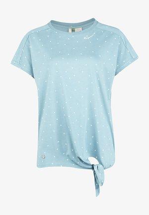 TOP BOLIVIA ORGANIC W - T-shirt print - light blue