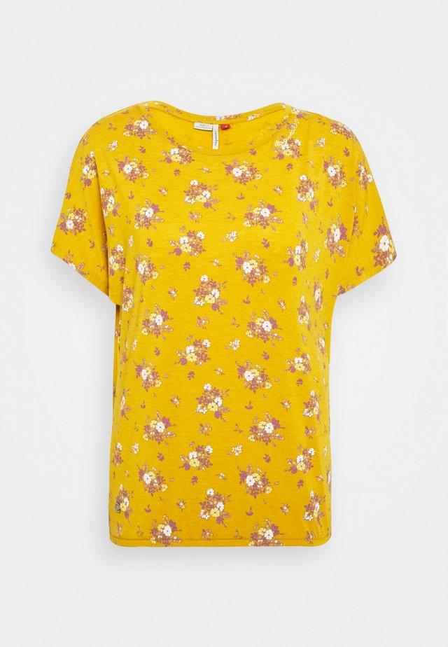 PECORI - Printtipaita - yellow
