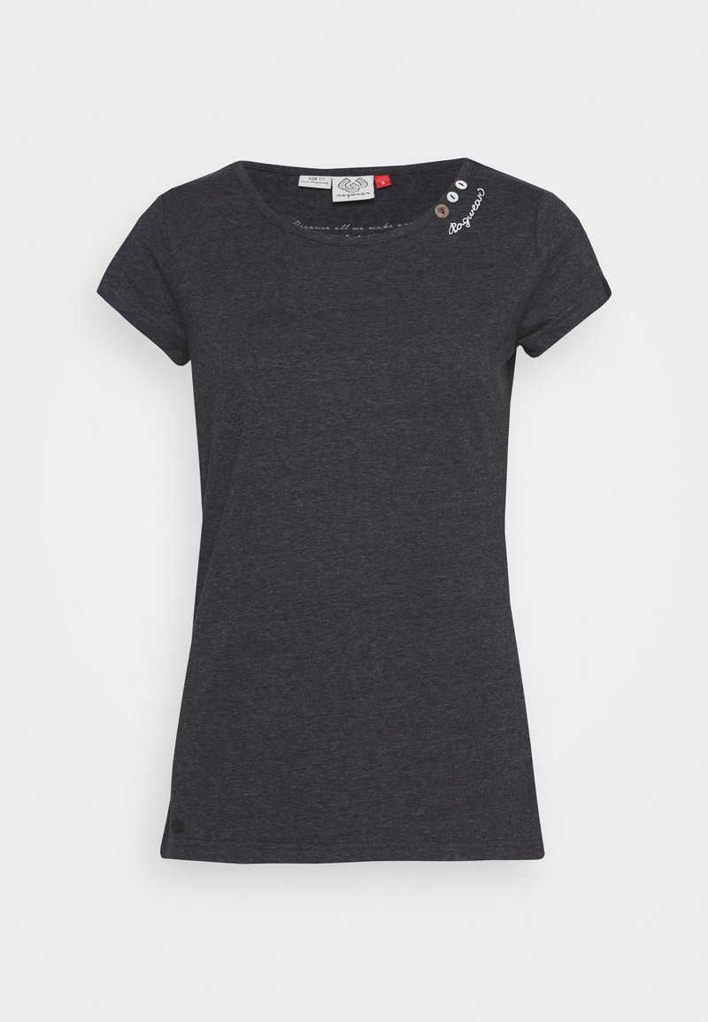 Ragwear - T-shirt imprimé - black