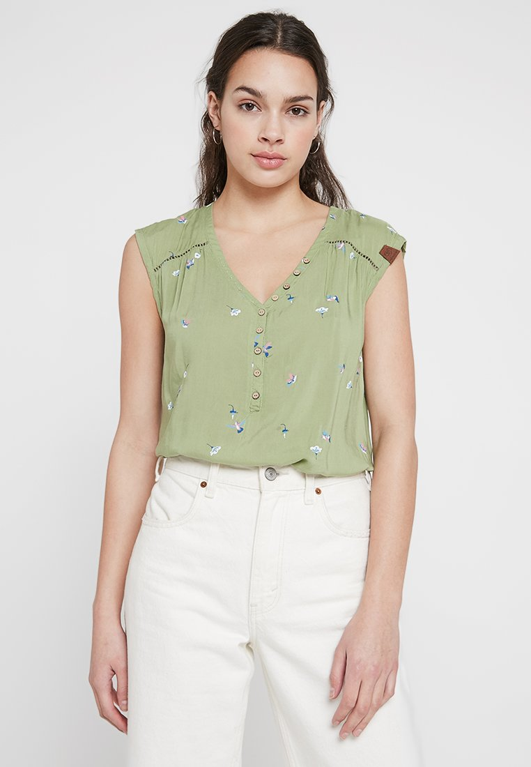 Ragwear - SALTY A - Bluse - light olive