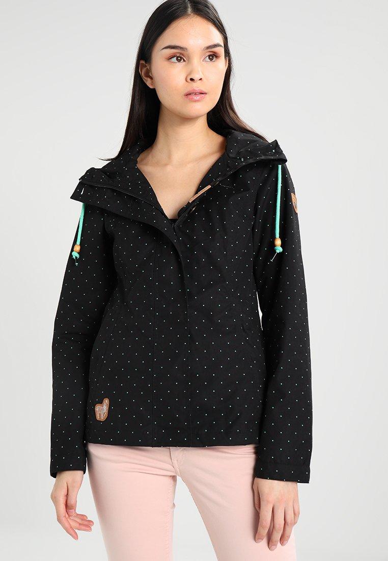 Ragwear - LYNX DOTS - Summer jacket - black