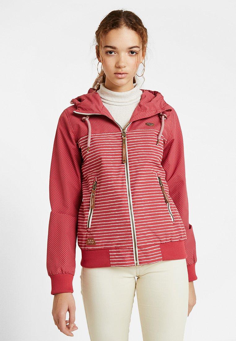 Ragwear - NUGGIE MARINA - Summer jacket - chili red