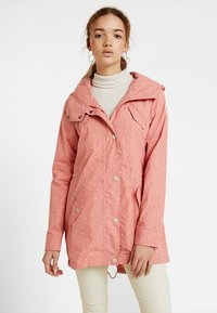 Ragwear - CRANCHY DOTS - Parka - dusty red - 0