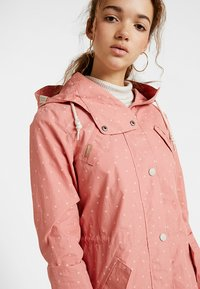 Ragwear - CRANCHY DOTS - Parka - dusty red - 3