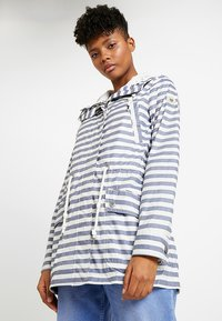 Ragwear - BARUNKA STRIPES - Summer jacket - navy - 0