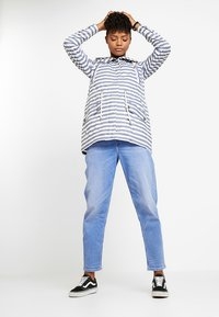 Ragwear - BARUNKA STRIPES - Summer jacket - navy - 1