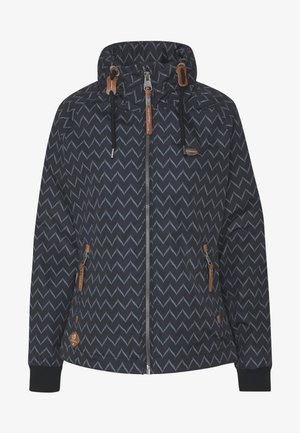 APOLI ZIG ZAG - Summer jacket - black