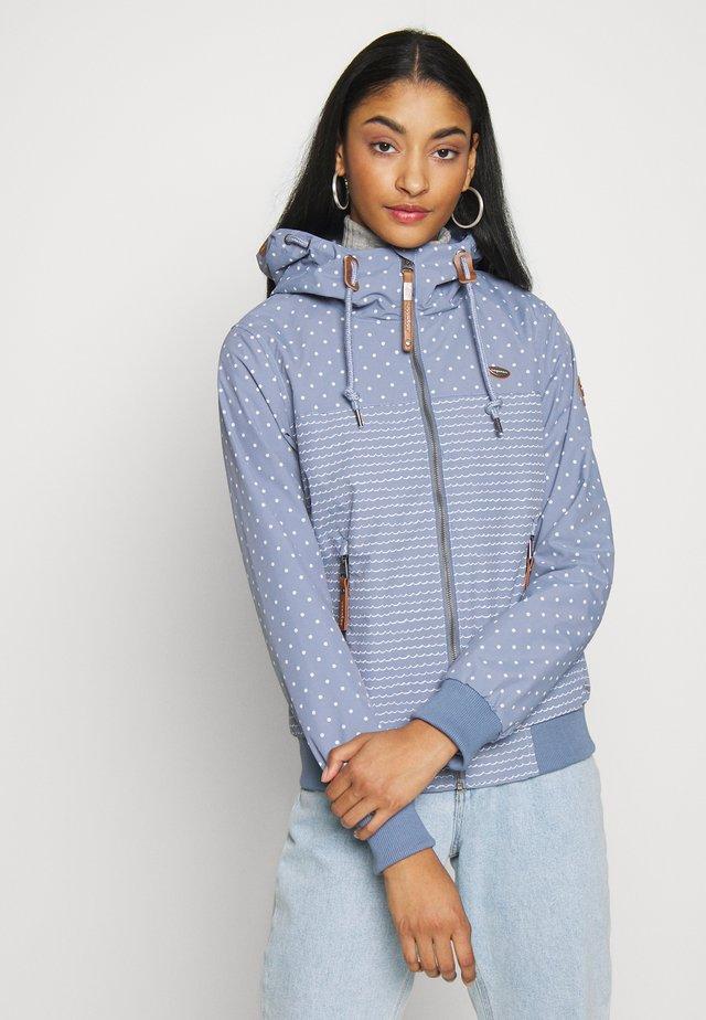 NUGGIE MARINA - Vodotěsná bunda - lavender