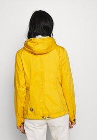 Ragwear - RIZZE - Korte jassen - yellow - 2