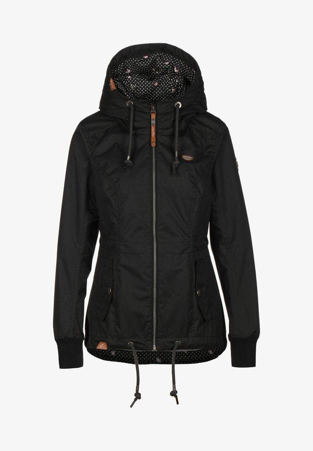 DANKA - Regenjacke / wasserabweisende Jacke - black