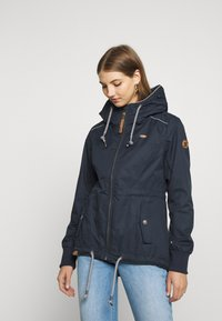 Ragwear - DANKA - Krátký kabát - navy - 0