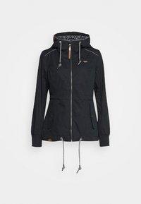 Ragwear - DANKA - Krátký kabát - navy - 3