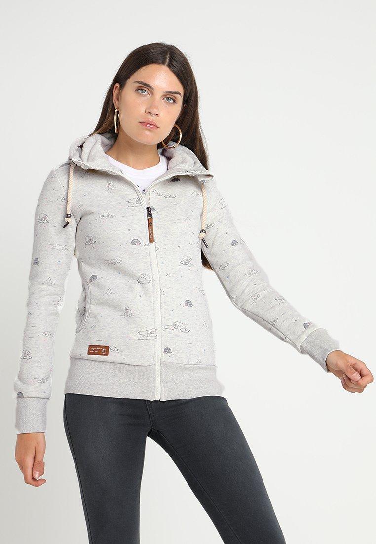 Ragwear - ZIP - Zip-up hoodie - white